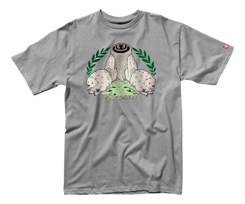 Element Fish 2.0 T-Shirt  - Grey - Mens T-Shirt