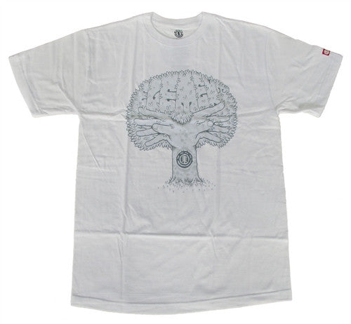 Element Fish 2.0 T-Shirt - White - Mens T-Shirt