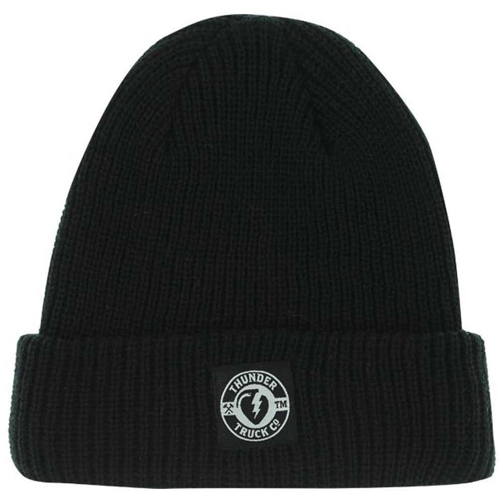 Thunder Mainline Cuff - Black - Mens Beanie