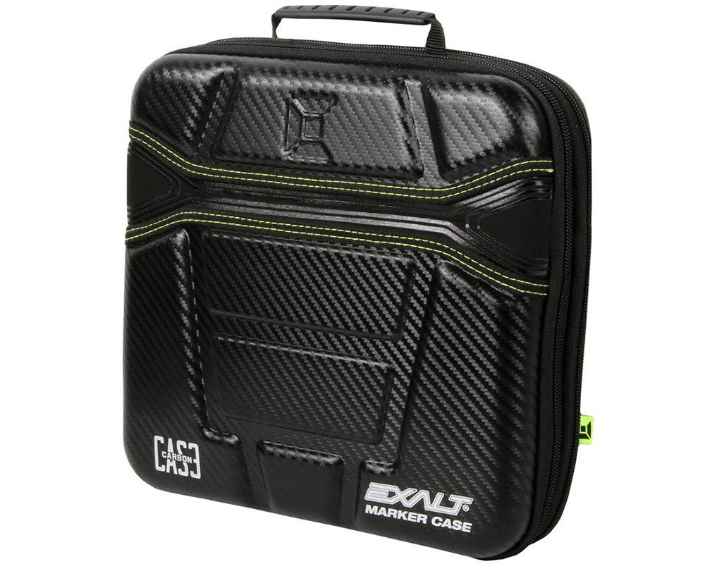 Exalt Protective Hard Gun Case - Carbon Black/Green