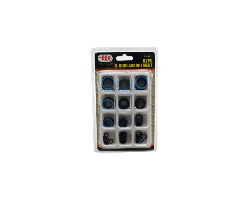 62 Piece O-Ring Assortment