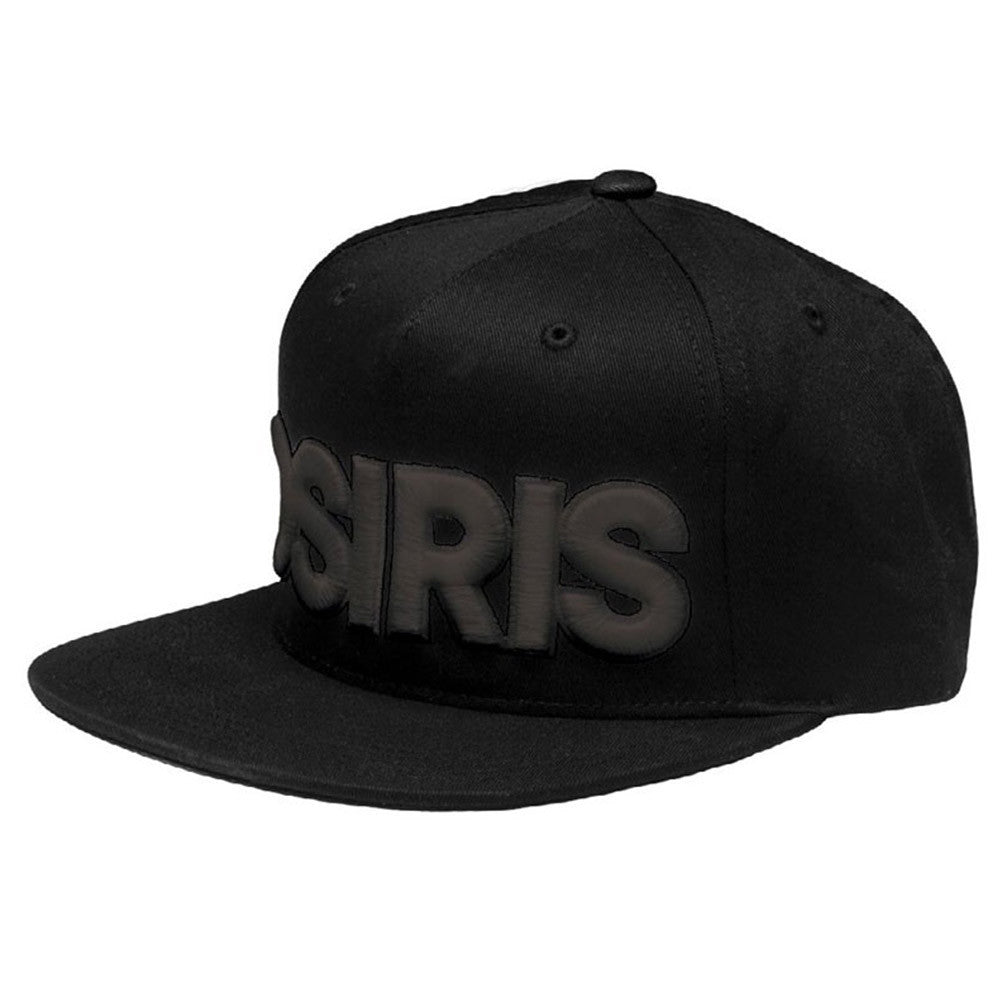 Osiris 83 Snapback - Black/Black - Men's Hat