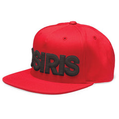 Osiris 83 Snapback - Red/Black - Men's Hat