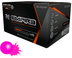 Empire Heat Paintballs Case 2000 Rounds - Pink Fill