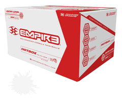Empire Hotbox Paintballs Case 2000 Rounds - White Fill