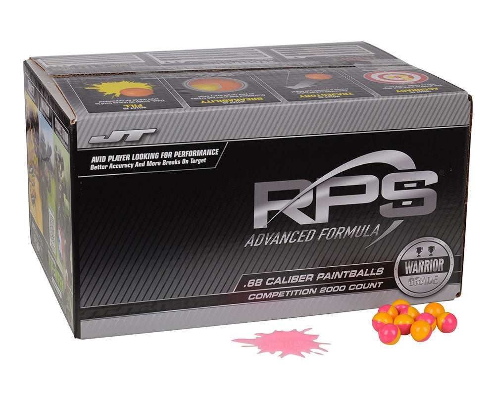 JT Competition Paintballs Case 2000 Rounds - Pink Fill