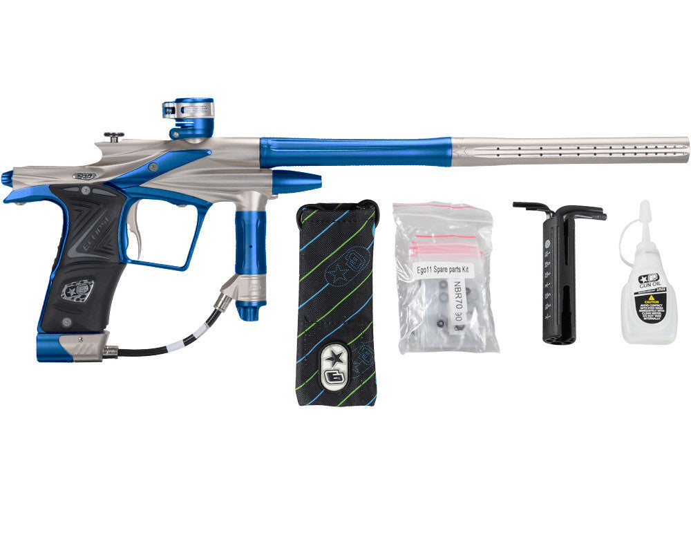 Planet Eclipse 2011 Ego Paintball Gun - Pewter/Cobalt