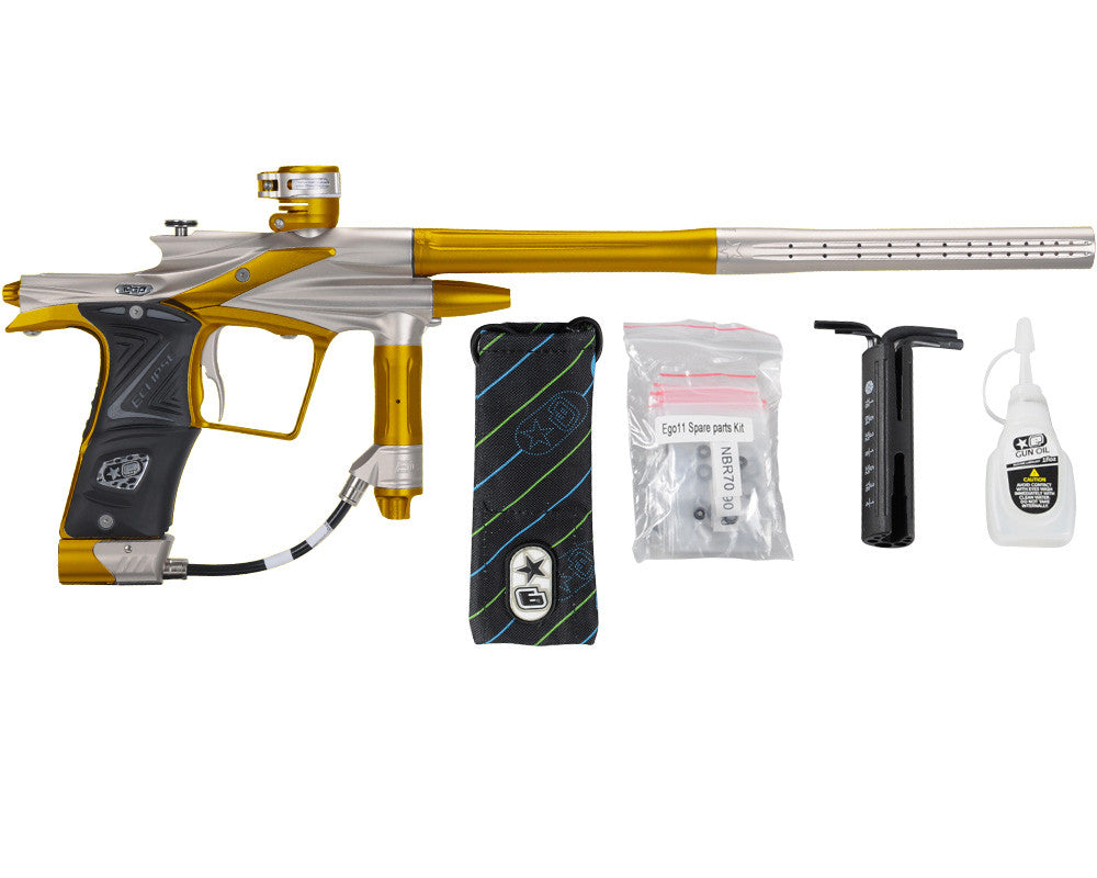 Planet Eclipse 2011 Ego Paintball Gun - Pewter/Gold