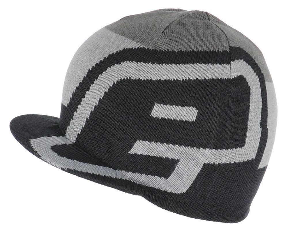 Planet Eclipse 2015 Staple Visor Beanie - Black/Grey