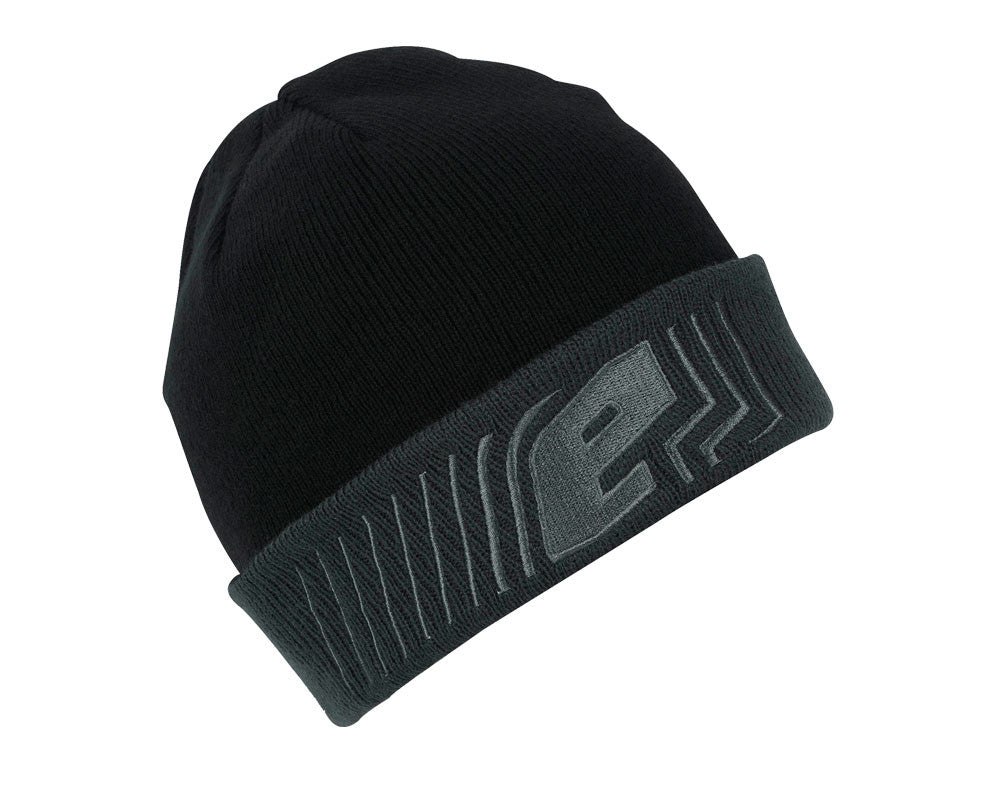 Planet Eclipse 2016 Flux Rollup Beanie - Black/Grey
