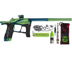 Planet Eclipse Paintball Gun - Ego LV1.5 - Green/Navy Blue