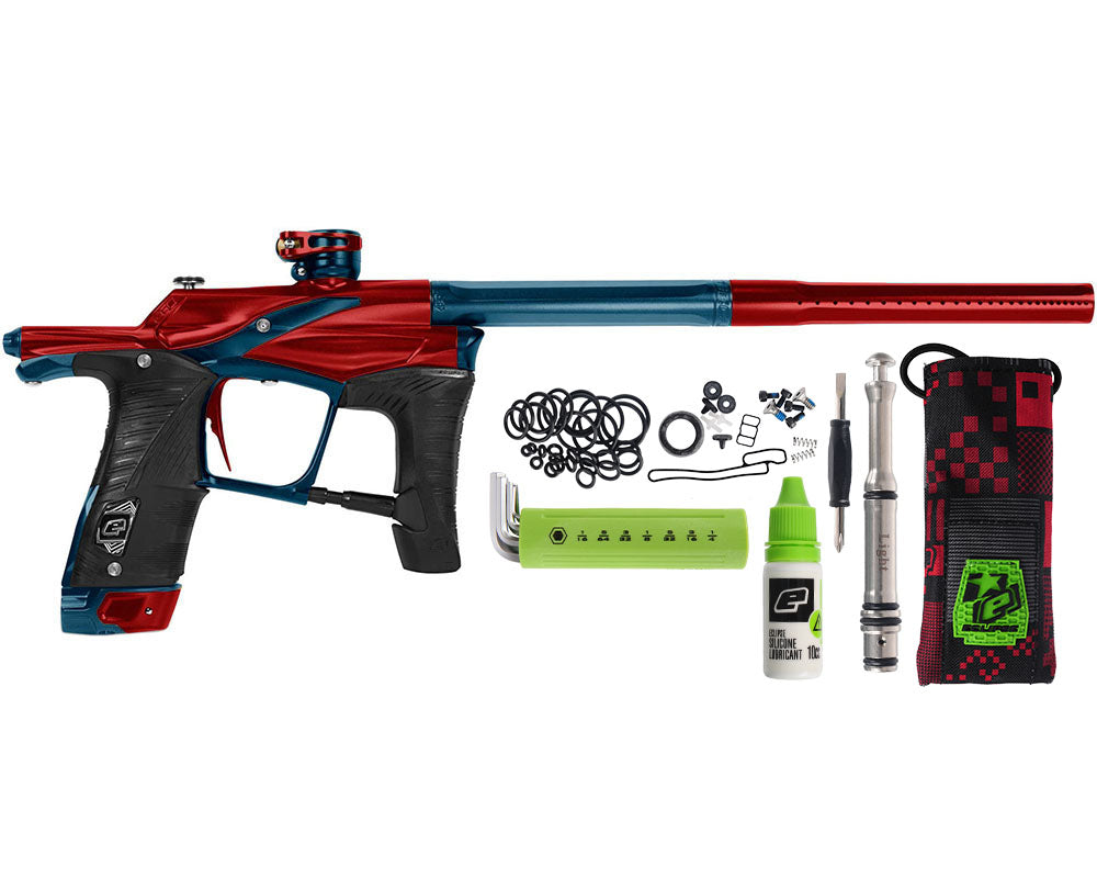 Planet Eclipse Paintball Gun - Ego LV1.5 - Red/Navy Blue