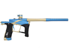 "Planet Eclipse Ego LV1 Paintball Gun - Dynasty ""Waffle"" Milled Edition - Electric Blue/Rose Gold"