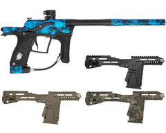 Planet Eclipse Etek 5 Paintball Gun w/ Free EMC Kit - Splat Blue