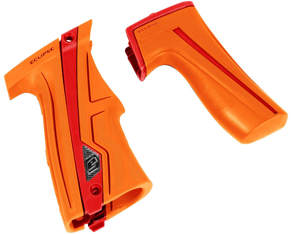Planet Eclipse Geo CS1 Grip Kit - Orange/Red