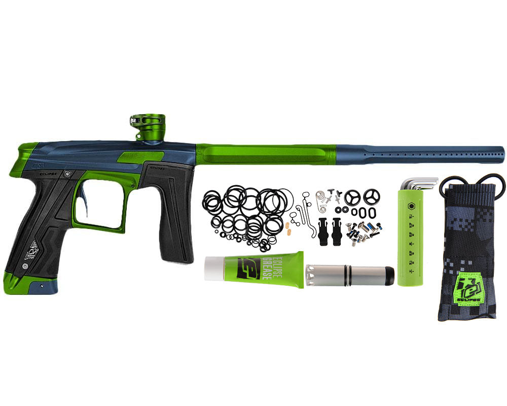 Planet Eclipse Geo CS1 Paintball Gun - Dark Blue/Green