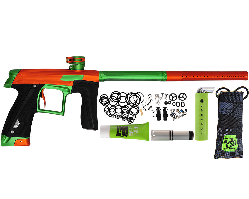 Planet Eclipse Geo CS1 Paintball Gun - Orange/Green