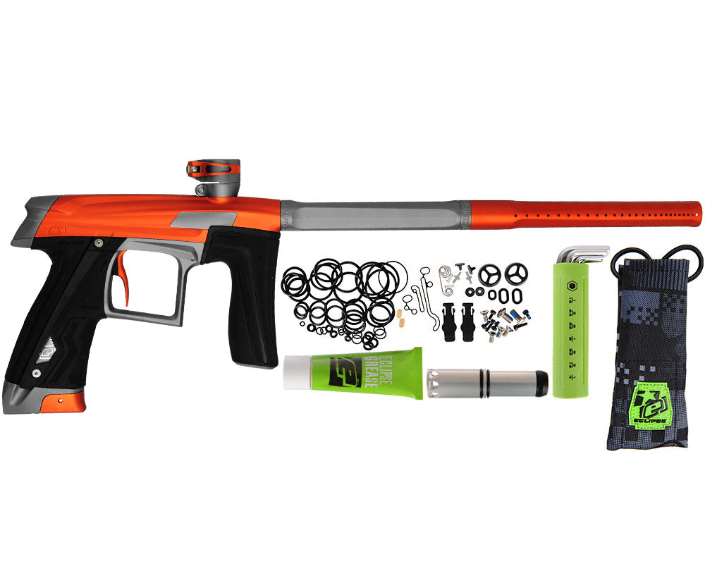 Planet Eclipse Geo CS1 Paintball Gun - Orange/Grey