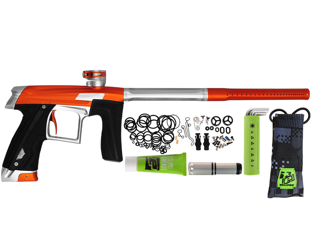 Planet Eclipse Geo CS1 Paintball Gun - Orange/Silver
