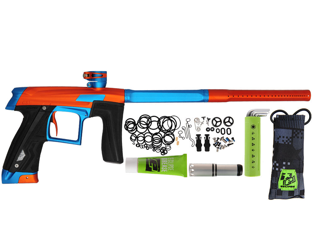 Planet Eclipse Geo CS1 Paintball Gun - Orange/Teal