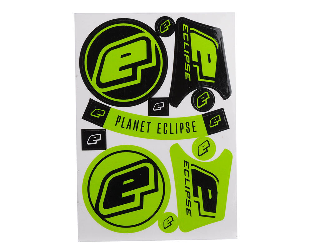 Planet Eclipse Sticker Sheet - Neon