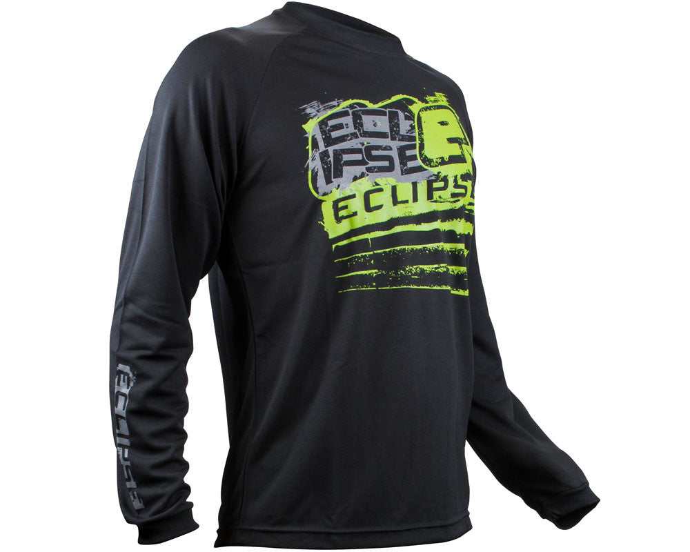 Planet Eclipse Men's 2015 Long Sleeve Brawler T-Shirt - Black