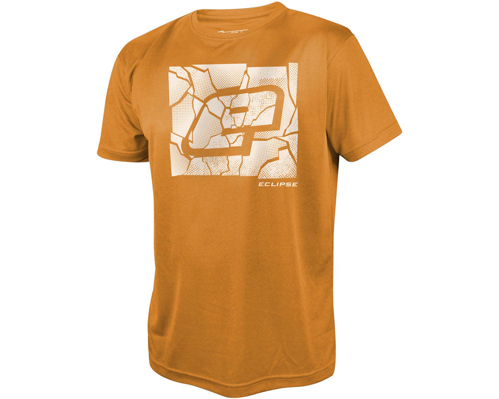 Planet Eclipse Pro-Formance Men's Breaker T-Shirt - Orange