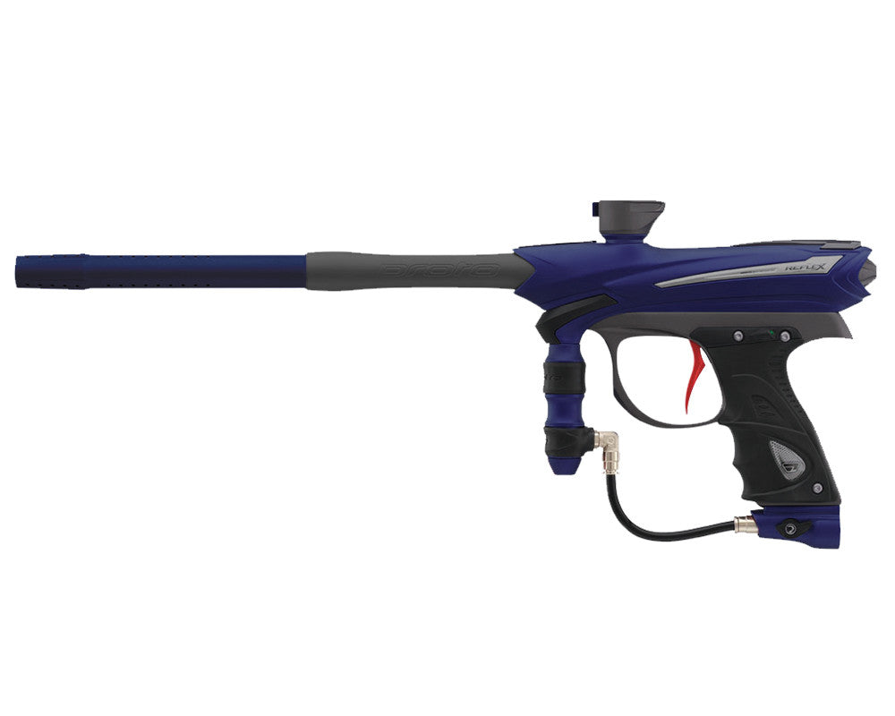 Proto Reflex Rail Paintball Gun - Navy/Grey