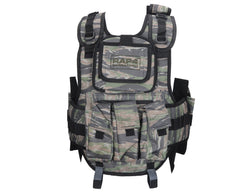 RAP4 Counterstrike Paintball Vest - Tiger Stripe