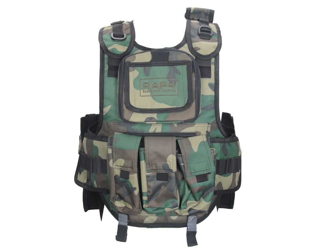 RAP4 Counterstrike Paintball Vest - Woodland