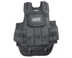 RAP4 Counterstrike Paintball Vest - Black