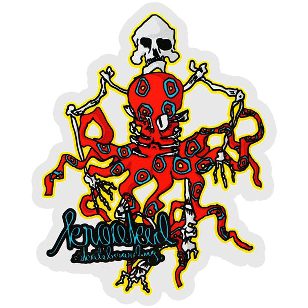 Krooked Raveled - Medium - Sticker