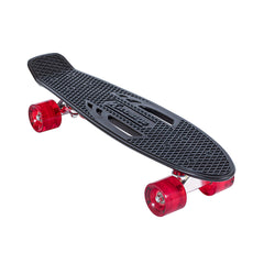 Karnage Retro Matte - Black/Red - Complete Skateboard