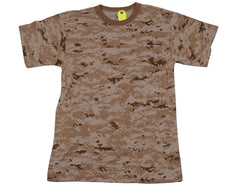 Rothco Short Sleeve T-Shirt - Desert Digital