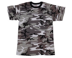 Rothco Short Sleeve T-Shirt - Urban Camo