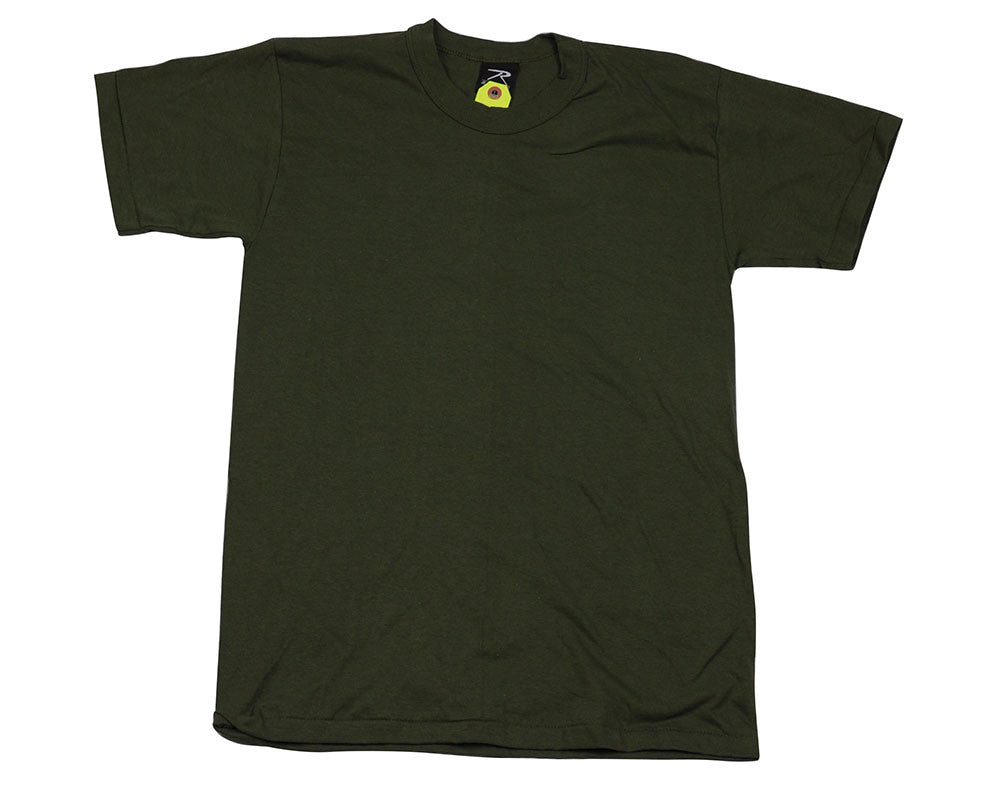 Rothco Youth Short Sleeve T-Shirt - Olive
