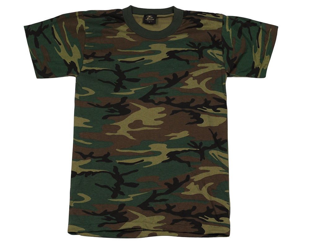 Rothco Youth Short Sleeve T-Shirt - Woodland