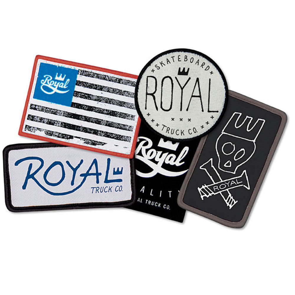 Royal Patch 5 Pack - Assorted - Apparel Accessories