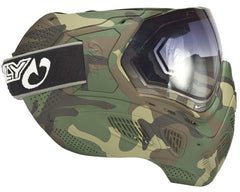 Sly Paintball Mask Profit Series - Full Woodland Camo