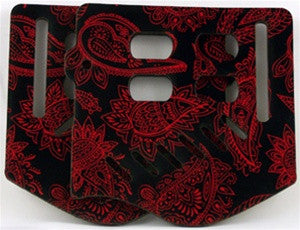 Stinger Paintball Designs Custom Soft Ears - Bandana - Red/Black