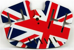 Stinger Paintball Designs Custom Soft Ears - British Flag