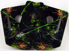 Stinger Paintball Designs Custom Soft Ears - Creepie Crawlie - Green