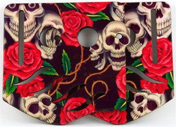 Stinger Paintball Designs Custom Soft Ears - Skulls and Roses