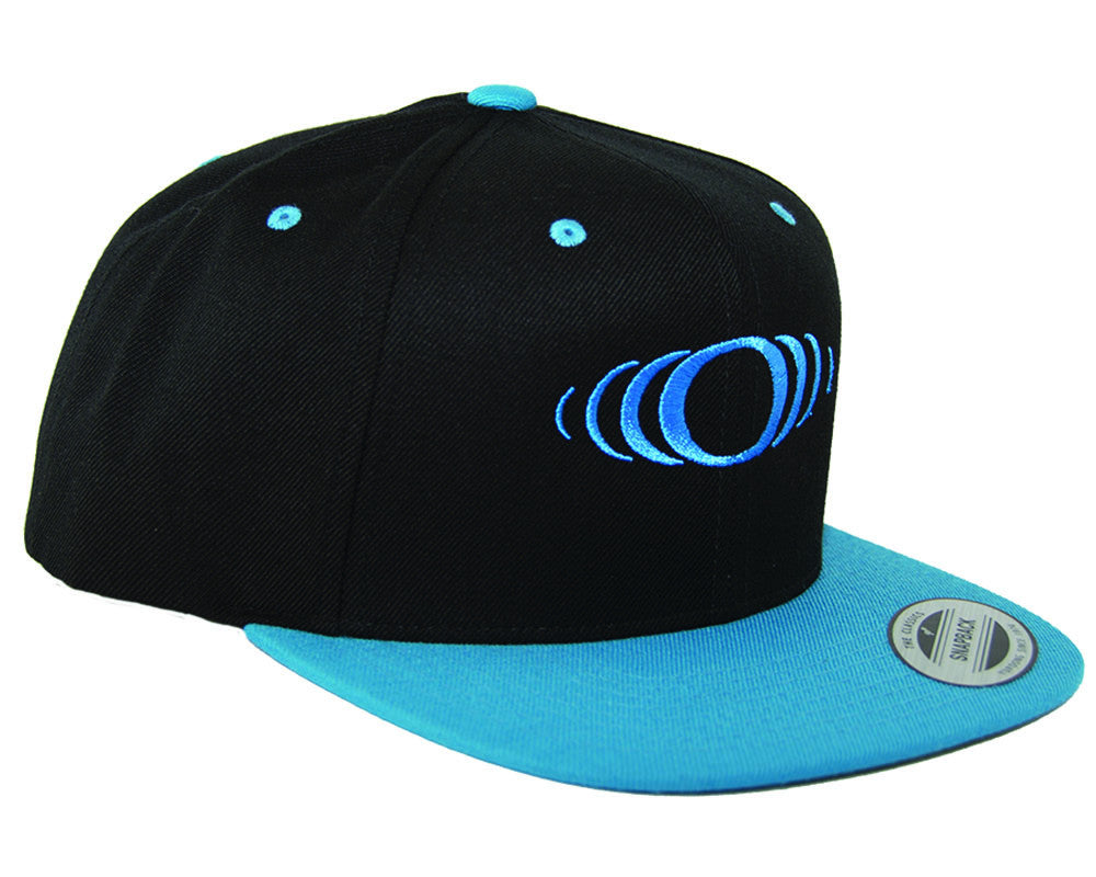 SP Shocker Snap Back Hat - Black/Teal