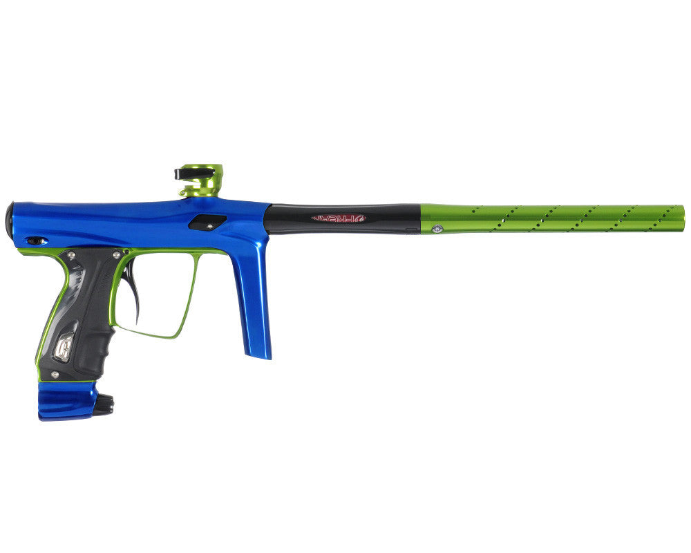 SP Shocker RSX Paintball Gun - Blue/Green/Black
