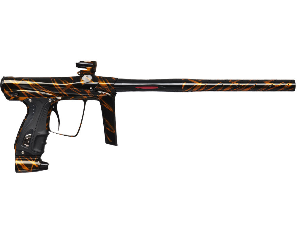 SP Shocker RSX Paintball Gun - Orange Brush Splash