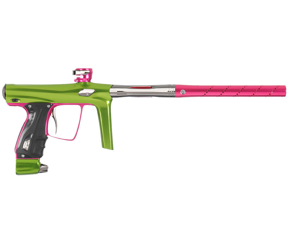 SP Shocker RSX Paintball Gun - Green/Pink/T-800