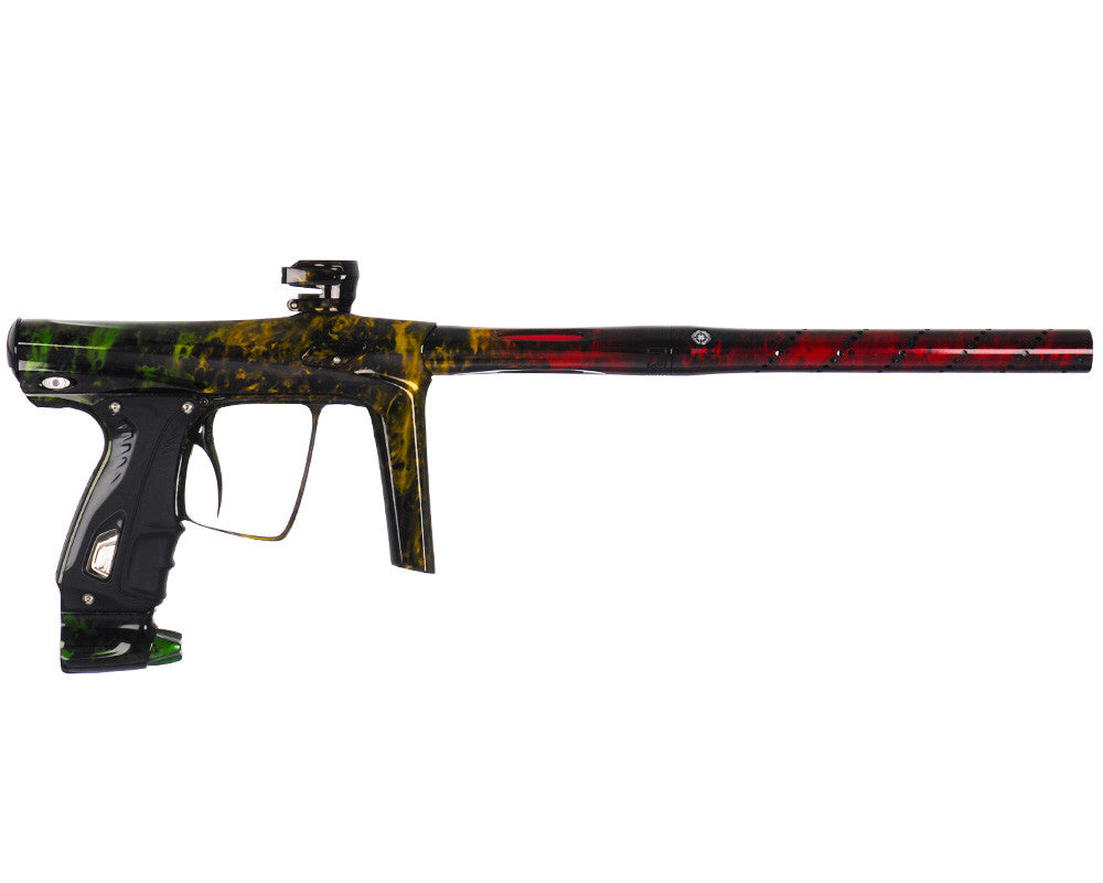 SP Shocker RSX Paintball Gun - Polished Acid Rasta