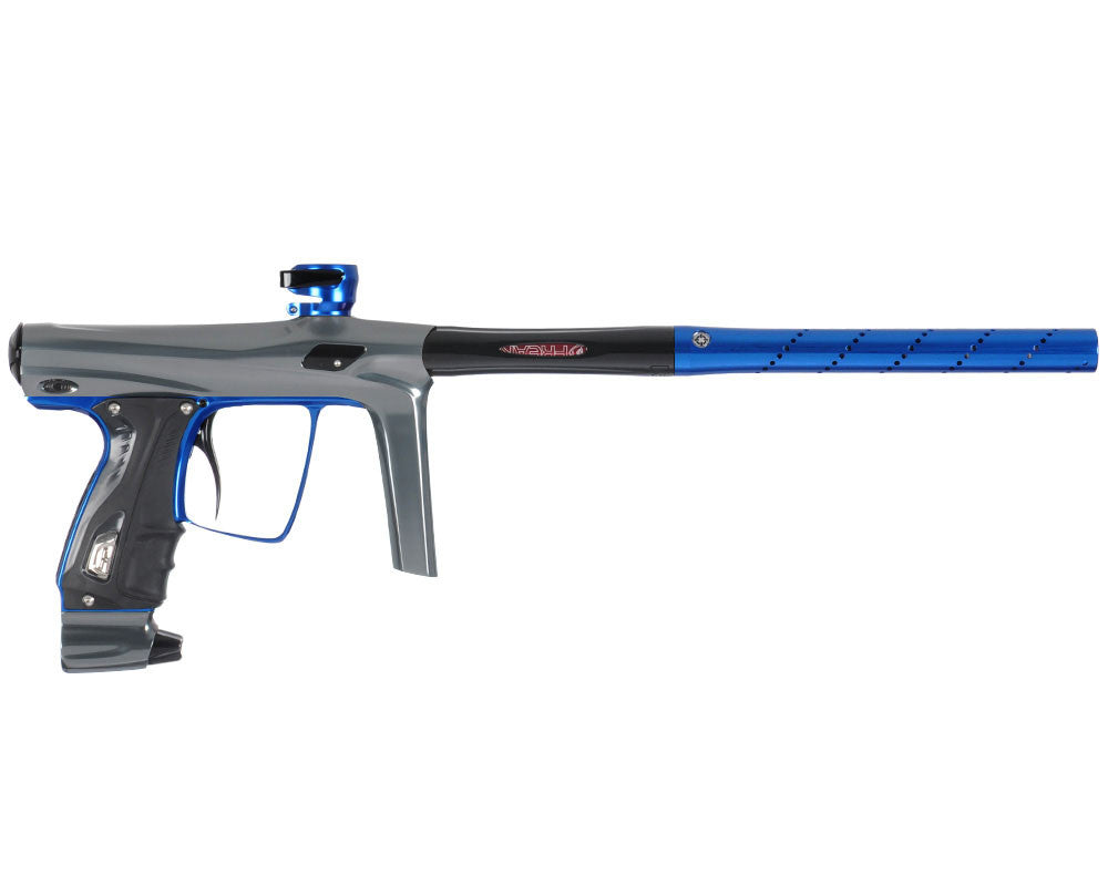 SP Shocker RSX Paintball Gun - Pewter/Blue/Black