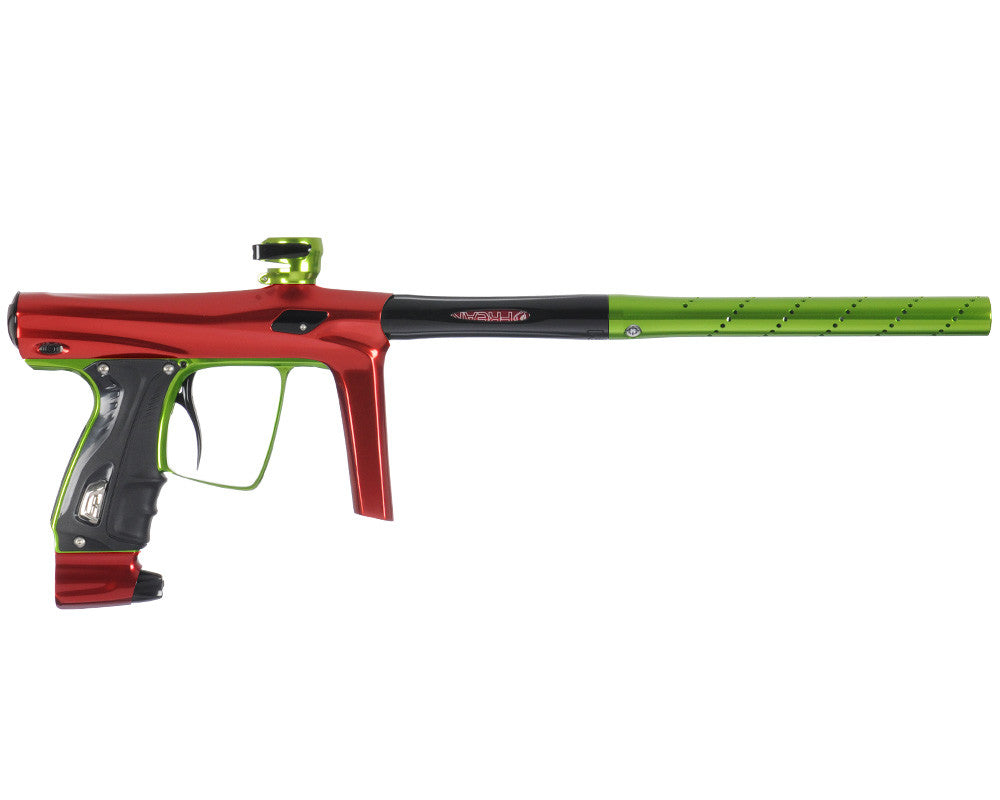 SP Shocker RSX Paintball Gun - Red/Green/Black